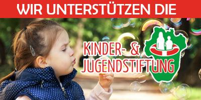 Wir unterstützen die Kinder- & Jugendstiftung Dithmarschen